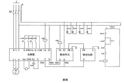 变频器在三足式离心机上的应用