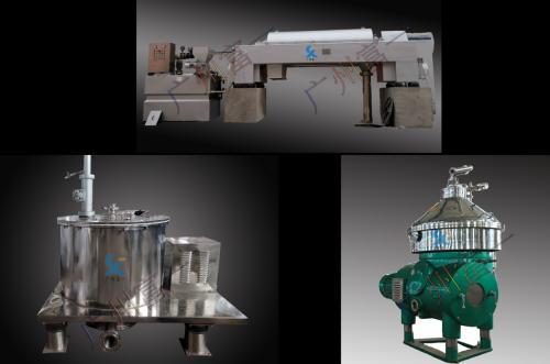 处理大豆废水中的卸料自动离心分离机