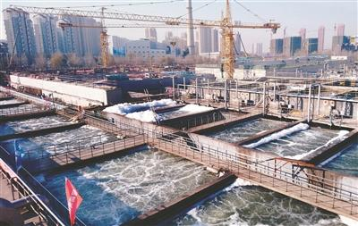仙女河污水处理厂完成升级改造