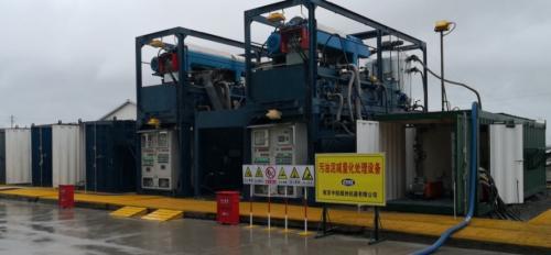 大庆油田污油泥处理系统2000小时运行无故障