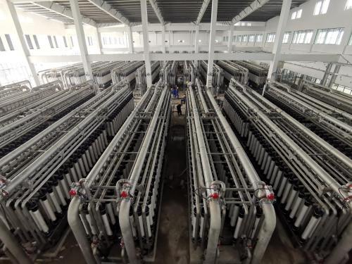 超滤水厂通水试运行