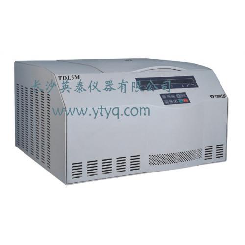 TDL5M系列台式大容量冷冻离心